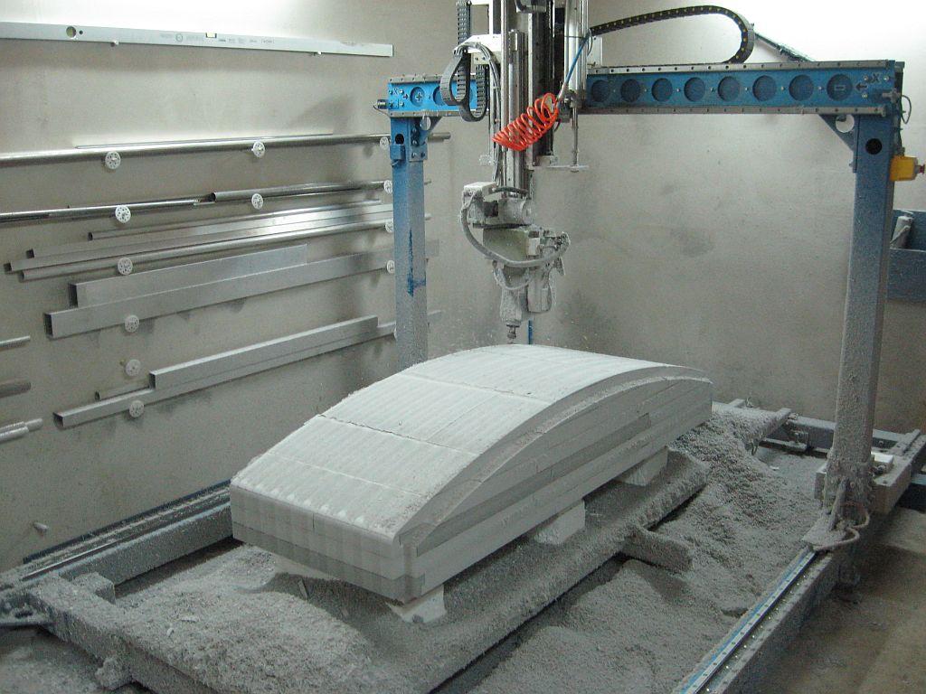Chwalebne Usługi CNC - Frezarka 5-osi - Wykonujemy modele, kopyta i prototypy. EC69